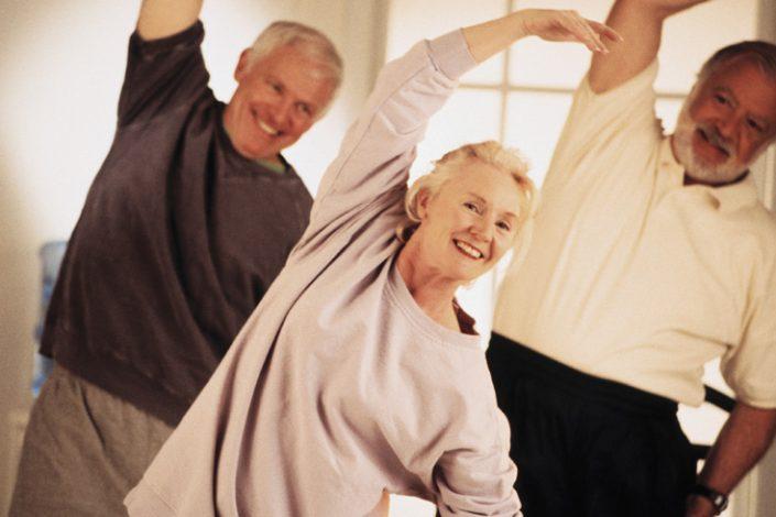 el ejercicio en personas mayores de 60 años